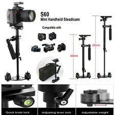 S60 Handheld Stabilizer SteadyCam Pro Gradienter for Camera Camcorder Video DSLR