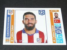 N°46 ARDA TURAN ATLETICO MADRID PANINI FOOTBALL UEFA CHAMPIONS LEAGUE 2014-2015
