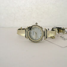 Nao Zuman Sterling Silver 925 Link Band Israel Watch Parts Not Working