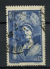 France 1938 SG#595 1f75 Champagne Girl Used #A19245