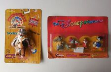 DISNEY FIGURE LOT RESCUE RANGERS TALESPIN GUMMI BEARS CHIP N DALE DUCKTALES