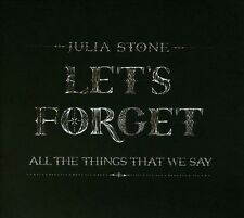 JULIA STONE Let's Forget All The Things We Say 4 Track EP CD BRAND NEW