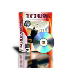 The Art of Public Speaking by Dale Carnegie MP3 files on DVDROM