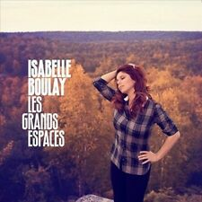 FREE US SH (int'l sh=$0-$3) NEW CD Boulay, Isabelle: Grands Espaces Import