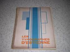1930.les typographes d'Estienne.Glozel imprimerie