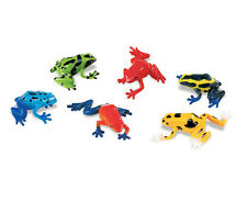 POISON DART FROGS~Set of 6 ~ Safari Ltd.=FREE SHIPPING $25+ within USA