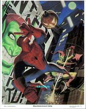 1981 AMAZING SPIDER-MAN vs GREEN GOBLIN ORIGINAL POSTER PRINT FASTNER LARSON ART