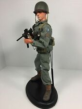 "1/6 DRAGON US 77TH INF DIV""HACKSAW RIDGE"" SGT OKINAWA GREASE GUN WW2 BBI DID 21"