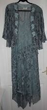 ANN BALON-size 14/16 DRESS & JACKET Occasion Mother of the Bride Wedding Cruise