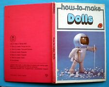 How To Make Dolls Ladybird vintage book hobbies craft toys puppets Christmas