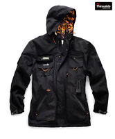 Scruffs EXPEDITION TECH JACKET BLACK (All Sizes) Mens Waterproof Work Coat