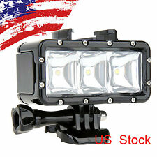 Shoot Diving Waterproof LED Video Light Flashlight f GoPro 4/3+/3 2 SJ4000 Cam