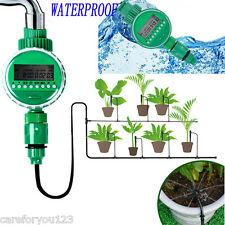 Waterproof Home LCD Auto Water Timer Garden Electronic Irrigation Controller