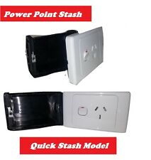 Power Point Stash Secret Electrical Outlet Diversion Safe Hidden compartment Box