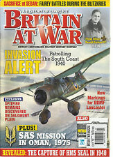 BRITAIN  AT WAR, OCTOBER,2012( BRITAIN'S BEST SELLING MILITARY HISTORY MONTHLY )