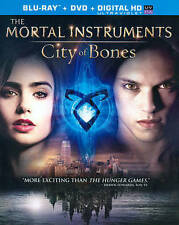 Mortal Instruments: City of Bones (Blu-ray/DVD COMBO, 2013) NO DIGITAL