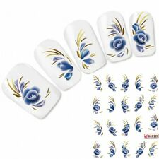 Tattoo Nail Art Blume Aufkleber Nagel Sticker Flower Neu!