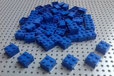 Lego Blue 2x2 Brick (3003) x10 *BRAND NEW* City Creator Star Wars Marvel