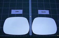 Außenspiegel Spiegelglas Ersatzglas Toyota Avensis Verso ab 2001-05 Li.od Re.sph