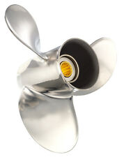 Solas 4121-093-11A Saturn Propeller: Suzuki - Stainless Steel