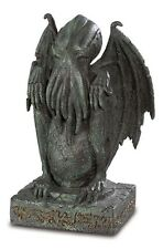 STATUE CTHULHU FIGURINE CALL LOVECRAFT DEVIL DEMONIO DIAVOLO DEMON SCULPTURE