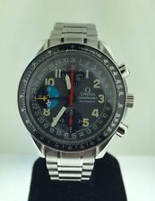 Men's Omega Speedmaster Chronograph Auto Triple Calendar AM/PM S/S