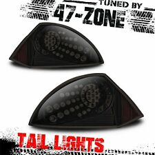 Stealth For 2000-2005 Mitsubishi Eclipse LED Black Housing Smoke Lens Taillight