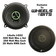 "J-Audio J-GT5 5.25"" Inch 13cm 130 2Way Car Speaker 210 Watt Each 420 Watt a Set"