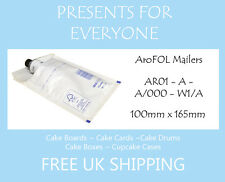 50 x Size A / AR01 White Kraft Padded Envelopes - FREE 1st CLASS UK SHIPPING