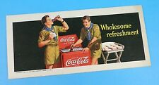 Coca Cola - Original 1940's Advertising Blotter - Boy Scouts