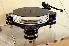 PRO-JECT UPGRADE! Black Acrylic Turntable Platter Mat. IMPROVE LOOKS & SOUND!