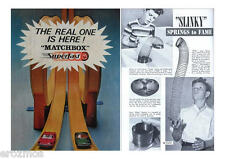 TELEVISION TOY COMMERCIAL RARITIES OF THE 1950s & 60s