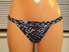 new ASOS Scale Snake Print Tanga Bikini Bottom multi UK 8 (L197)