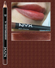 NYX SLIM LIP PENCIL LINER ~ COCOA ~ MEDIUM CHOCOLATE BROWN ~ SPL807