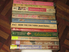 tw* Group 84  LOT OF 12 REGENCY AND HISTORICAL ROMANCE assorted authors
