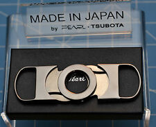 new TSUBOTA PEARL Seki City, Japan Double Bladed Guillotine Cutter Black Silver☦