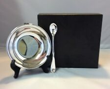 Dansk Tjorn Sliver Plated Baby Bowl and Spoon New in Box