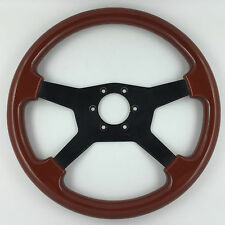 Raid 360mm wood car steering wheel. Genuine. Also fits Nardi hub kits. Bargain!