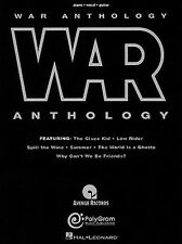War Anthology Sheet Music Piano Vocal Guitar Songbook NEW 000306106