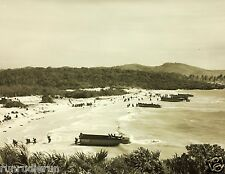 REPRINT OF 1950 PHOTO SHOWING MILITARY PORTEX OPERATION VIEQUES ISLAND, PR
