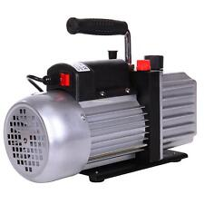 4.5CFM 1/3HP 220V Single Stage Rotary Vane Deep Vacuum Pump DE fast shipping