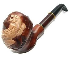"HAND CARVED, EXCLUSIVE SMOKING PIPE PEAR Large "" Royal Tiger "" Made by Artisan"