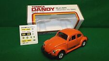 TOMICA DANDY VOLKSWAGEN 1200 LE IN ORANGE 1:43 RARE BOXED  (Z136)