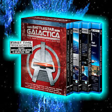 Battlestar Galactica: The Definitive Collection (Blu-ray Disc, 2015, 18-Disc...
