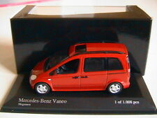 MERCEDES BENZ VANEO W414 MAGMAROT 2002 MINICHAMPS 400031202 1/43 LIMITED EDITION