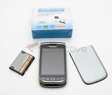 Very Good Used BlackBerry Torch 9810 Silver Unlocked GSM At&t Smartphone QWERTY