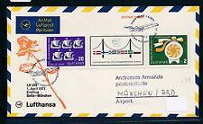 95431) LH FF Sofia Bulgarien - München 1.4.71, SoU ZD Brücke bridge