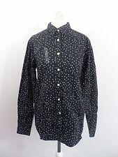 Jack Wills Holecroft Shirt Black Size UK 8 Box4657 U