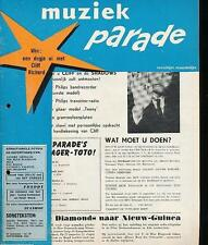 MUZIEK PARADE 66/62 RAY CHARLES CLIFF RICHARD GRONLOH