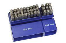 36 Punzones para Marcar Letras y Numeros 5 mm